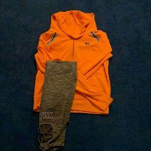 PINK | Hoodie and leggings set